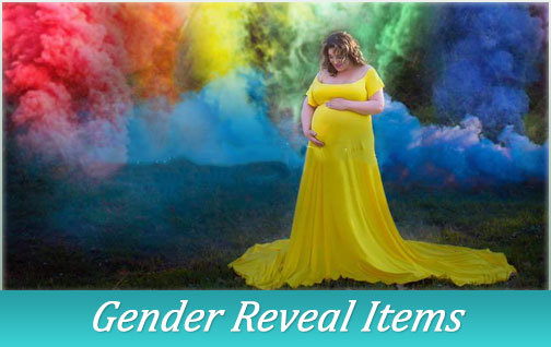 gender reveal sparklers
